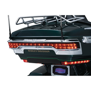 Kuryakyn Tri-Line Accent for Rear Tour-Pak Light for 2014-2016 Harley Touring