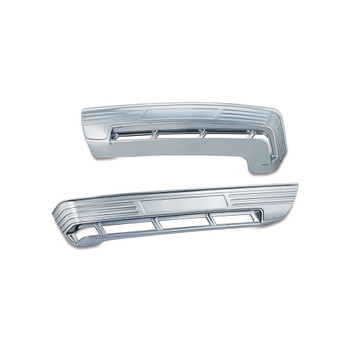 Kuryakyn Tri-Line Accents for Side Tour-Pak Lights for 2014-2016 Harley Touring