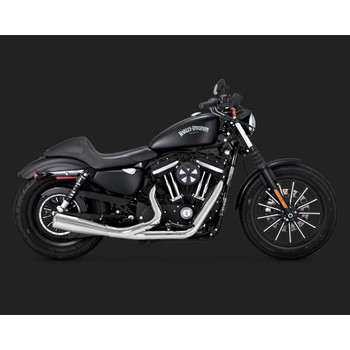 Vance & Hines Upsweep 2-Into-1 Exhaust System for 2004-2020 Harley Sportster