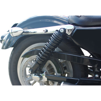 """Details about  /Drag Specialties 11/"""" Ride-Height Adjustable Shocks Chrome  1310-1203"""
