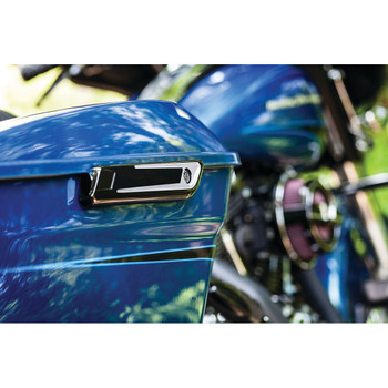Bahn Saddlebag Hinge Covers for 2014-2016 Harley Touring