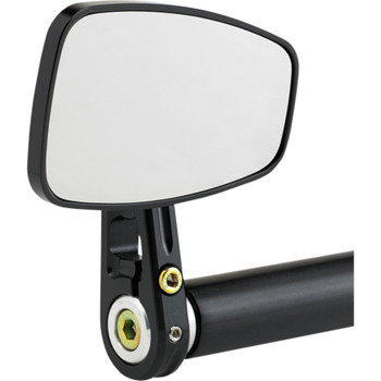 Joker Machine Cafe Style Black Bar End Mirror