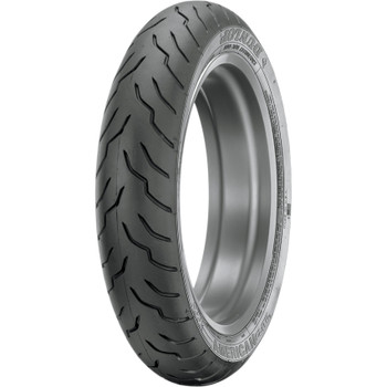 Dunlop American Elite Front Tire for Harley - Blackwall