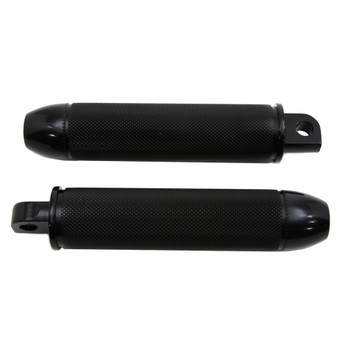 V-Twin Black Bullet 357 Magnum Foot Pegs for Harley