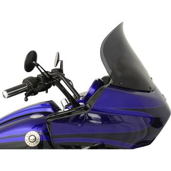 "Klock Werks 14"" Flare Windshield for 1998-2013 Harley Road Glide – Dark Smoke"