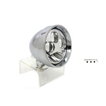 "V-Twin Chrome 5-3/4"" LED Headlight"