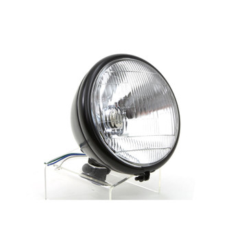 "V-Twin Black 6.5"" Headlight"