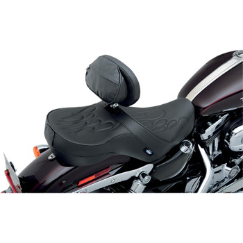 "Drag Specialties ""The Converible"" EZ Glide II Large Backrest"