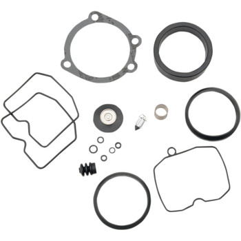 Drag Specialties Carb Rebuild Kit for 1988-2006 Harley Keihin CV Carbs
