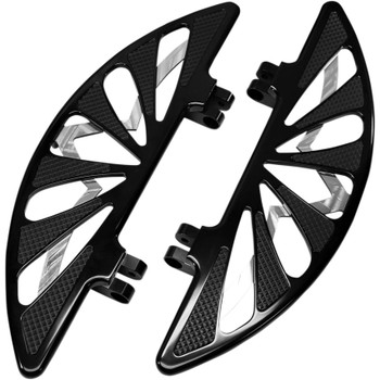 Carl Brouhard Spiro Series Driver Floorboards for Harley