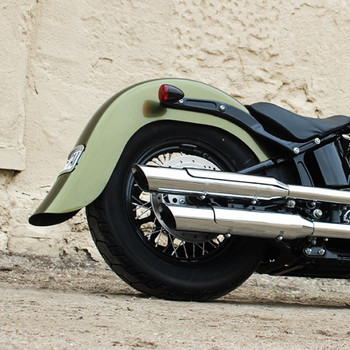 "Klock Werks 4"" Frenched Stretched Rear Fender for 2012-2017 Harley Softail Slim"