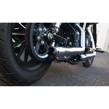 FireBrand Chrome Rip-Rod Slip-On Exhaust Mufflers for Harley Sportster