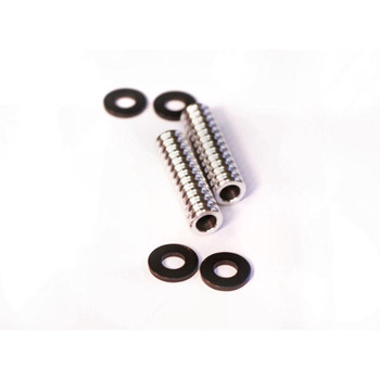 Old-Stf Aluminum Front Motor Mount Spacers for 1954-1985 Harley Sportster
