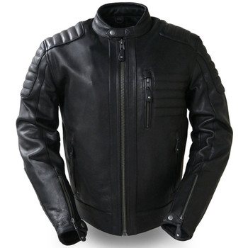 First Mfg. Defender Leather Jacket