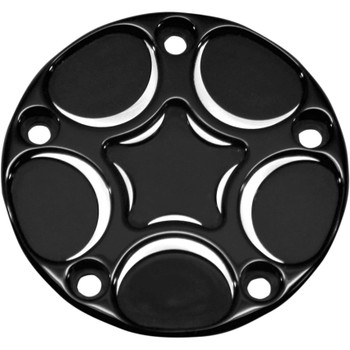 Carl Brouhard Spiro Series Points Cover for 1999-2017 Harley Twin Cam