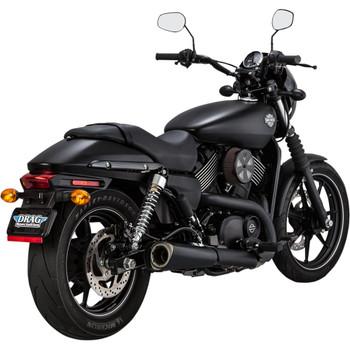 Vance & Hines Matte Black Competition Series Slip-On Muffler for 2015-2020 Harley XG Street