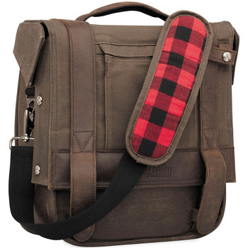 Burly Saddlebag - Dark Oak