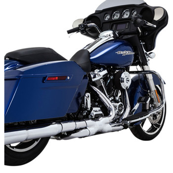 Vance & Hines Power Duals Header Exhaust System for 2017-2020 Harley Touring - Chrome