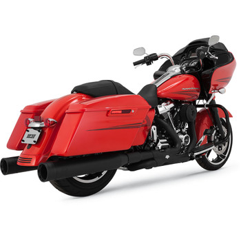 Vance & Hines Power Duals Header Exhaust System for 2017-2020 Harley Touring - Matte Black