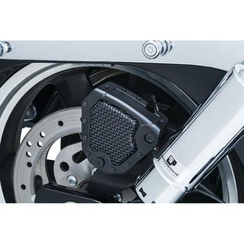 Kuryakyn Mesh Rear Braker Caliper Cover for 2008-2017 Harley Dyna & Softail