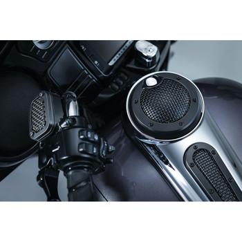 Kuryakyn Mesh Fuel Door for 2008-2017 Harley Touring