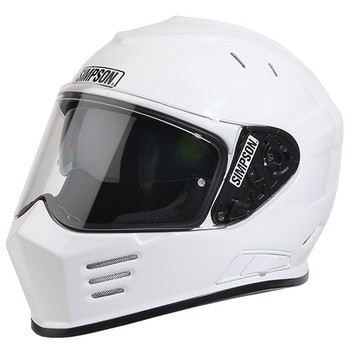 Simpson Ghost Bandit White Helmet