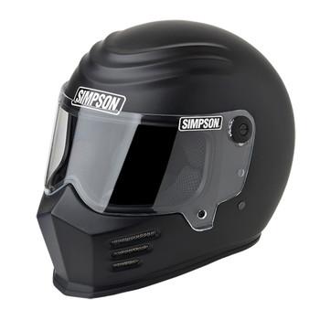 Simpson Outlaw Bandit Helmet - Matte Black