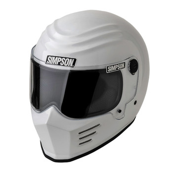 Simpson Outlaw Bandit Helmet - White