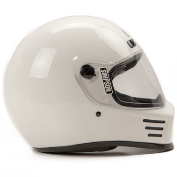 Simpson Street Bandit Helmet - White
