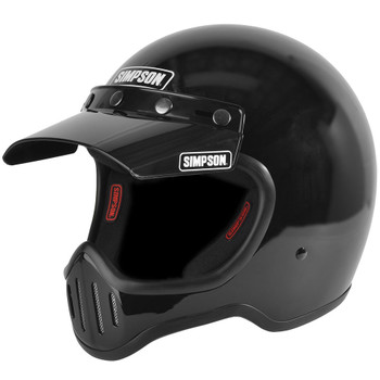 Simpson M50 Helmet - Gloss Black
