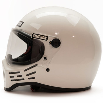 Simpson M30 Helmet - White