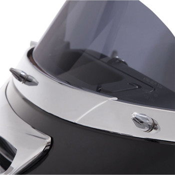 Ciro Windshield Screw Cap Kit for 2014-2020 Harley Touring - Chrome