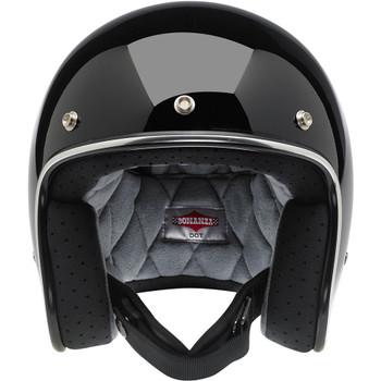 Biltwell Bonanza Helmet - Gloss Black