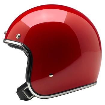 Biltwell Bonanza Helmet - Gloss Blood Red