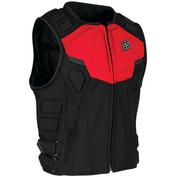 Speed and Strength Critical Mass Armored Vest - Red