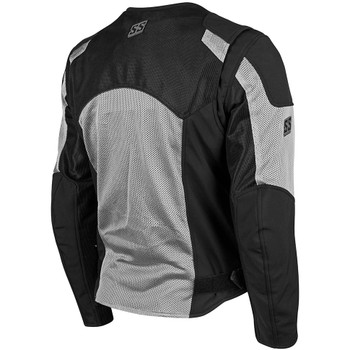 Speed and Strength Midnight Express Mesh Jacket - Silver