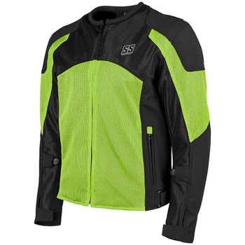 Speed and Strength Midnight Express Mesh Jacket - Hi-Vis
