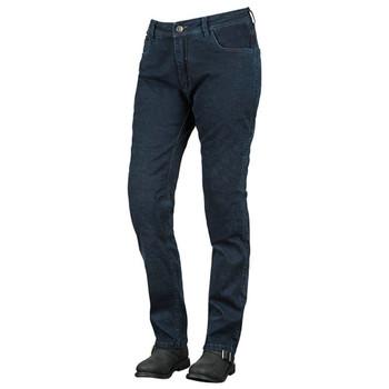 Speed and Strength True Romance Armored Stretch Moto Jeans - Dark Blue