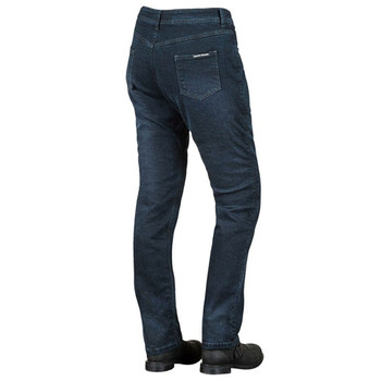 Speed and Strength True Romance Armored Stretch Moto Jeans - Blue