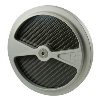 Brass Balls F1 Air Cleaner Cover - Clear