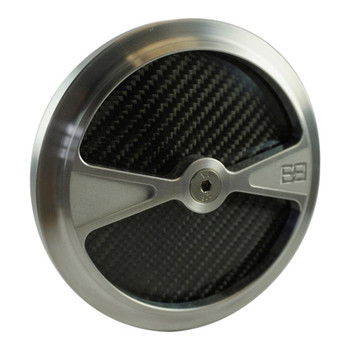 Brass Balls F1 Air Cleaner Cover - Raw