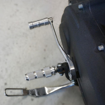 Brass Balls Knee Dragger Foot Pegs - Raw Machined