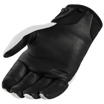 Icon Konflict Gloves - White