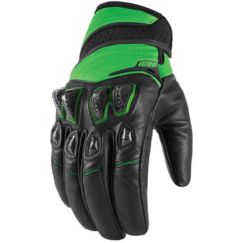 Icon Konflict Gloves - Green