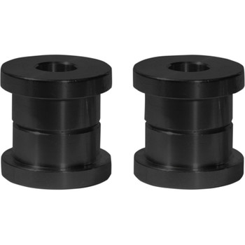 Speed Merchant Solid Riser Bushings for Harley - Black