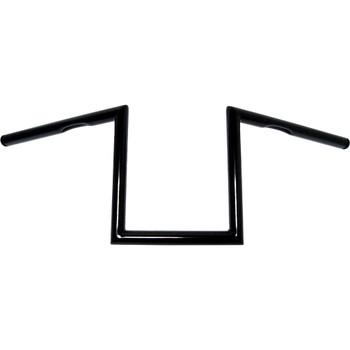 "HardDrive Traditional 10"" Z-Bars Handlebars - Black"