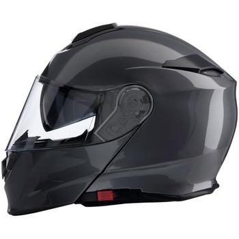 Z1R Solaris Modular Helmet - Dark Silver