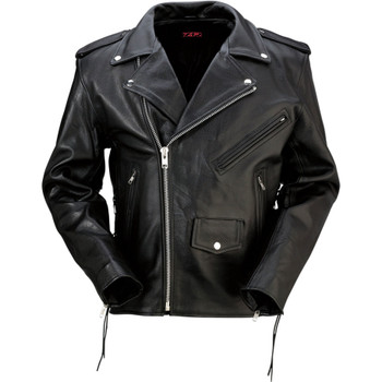 Z1R 9MM Leather Jacket