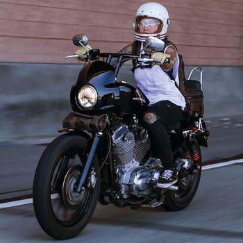 Burly Cafe Sport Fairing for Harley
