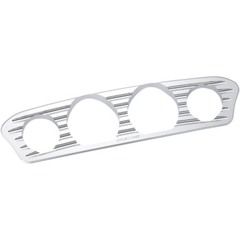 Arlen Ness Deep Cut Inner Fairing Gauge Trim for 2014-2017 Harley Touring - Chrome